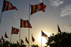 Buddhist flags, Sri Lanka