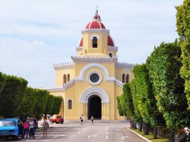 Central Chapel Colon Cemetery Havana
