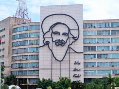 Ministry of Communications Building at Revolutionary Square, Havana